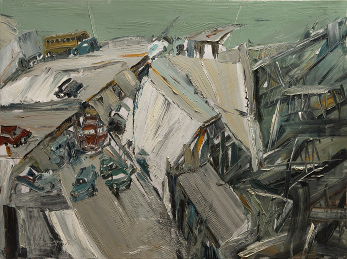 Boom #8, 2009, oil on canvas, 112.5x150cm. Singapore UOB Bank collection