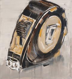 Measuring Tape, 2011, oil on canvas, 109x92cm
