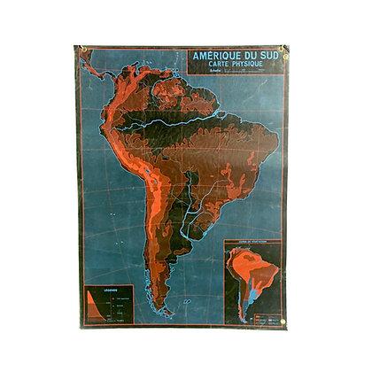 Affiche Amérique du Sud / Europe