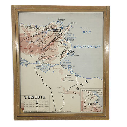 Affiche Tunisie / Algérie