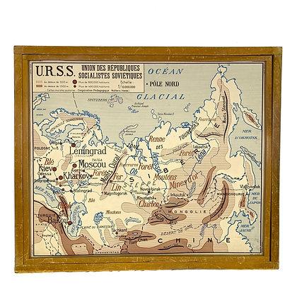 Affiche URSS / Etats-Unis