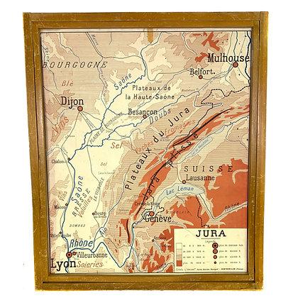 Affiche Jura / Massif central