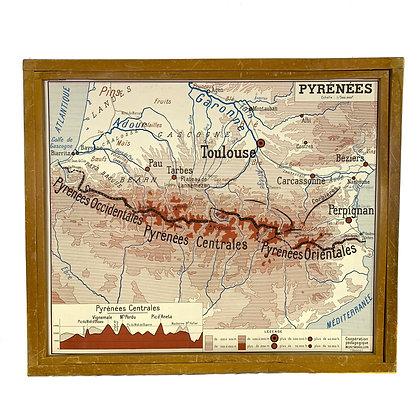 Affiche Pyrénées / Alpes