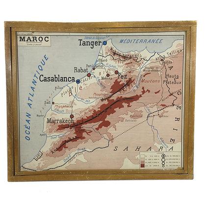 Affiche Maroc / Afrique du Nord (Maghreb)