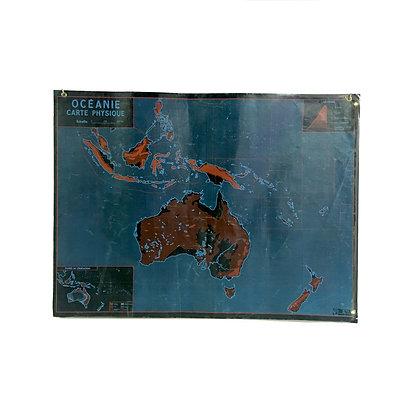 Affiche Océanie / Afrique