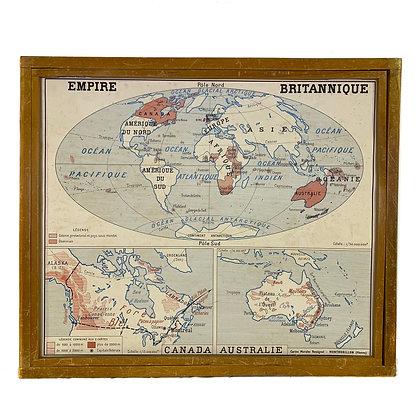 Affiche Union française / Empire britannique