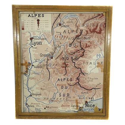 Affiche Alpes / Pyrénées