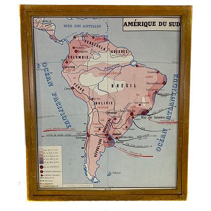 Affiche Amérique du sud / Océanie