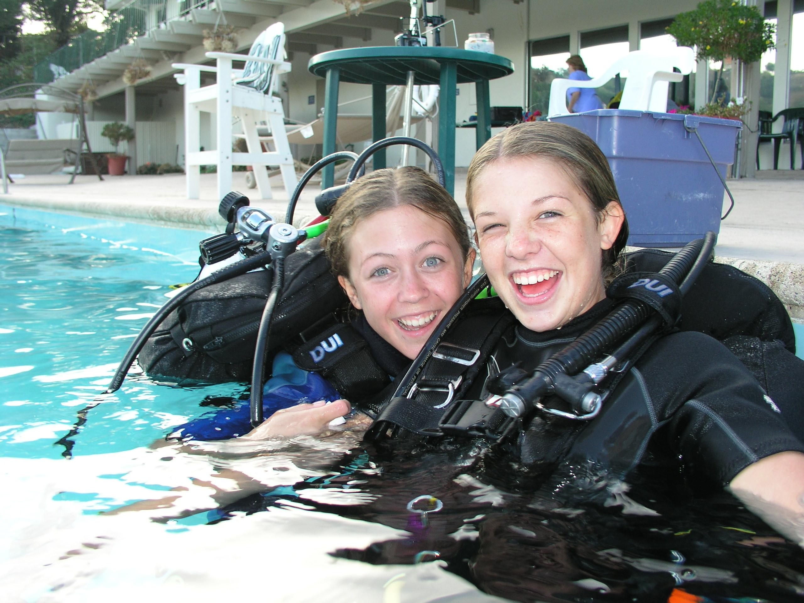 PADI Open Water Diver Pool