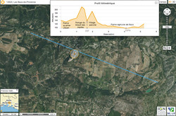 Example topo situation map