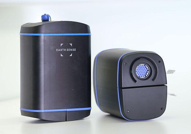 EarthSense Zephyr air quality sensor and