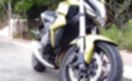 Green Motorbike Front
