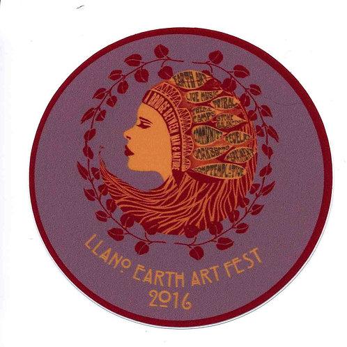 LEAF 2016 Vinyl Sticker