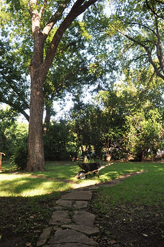 The Back Yard at Flossie's B&B
