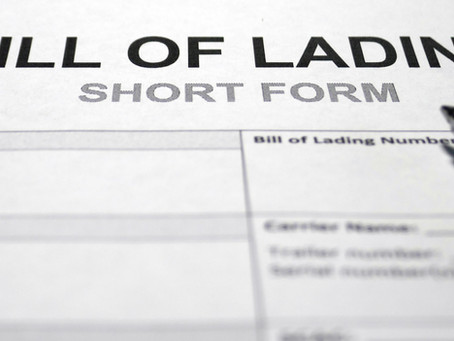 3 Things to Remember When Handling Bill of Ladings