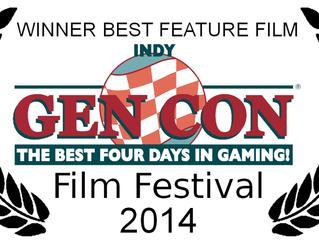 GenCon Best Feature Film!