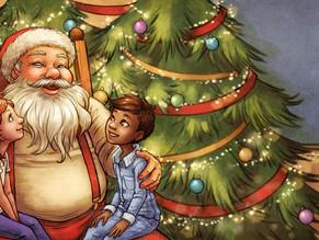 Morgan and the Magical Christmas Train sample