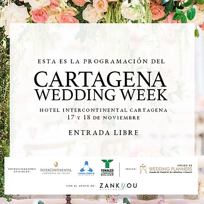 Cartagena Wedding Week 2018