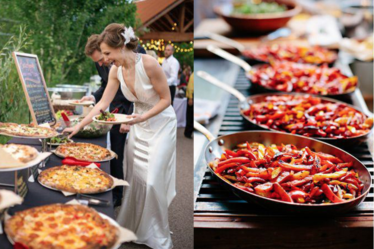 different catering wedding