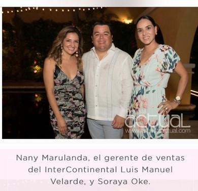 Coctel Hotel Intercontinental Casa Conde