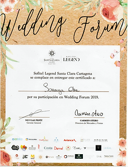 Wedding Forum Hotel Santa Clara 2019