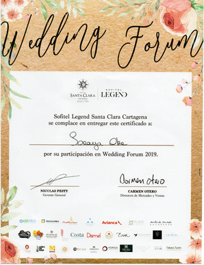 Wedding Forum Hotel Santa Clara 2019