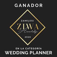 Ganadores ZIWA Mejores Wedding Planner 2