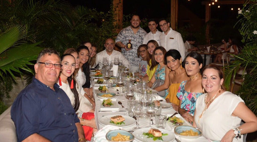 Degustación 2017 Restaurante Hotel Tcherassi Spa