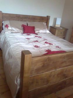 Full Panel Style Warm Oak