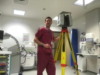Laser Scanning for the NHS