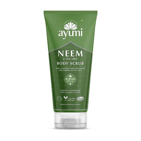 Ayumi Neem & Tea Tree Body Scrub - 200ml