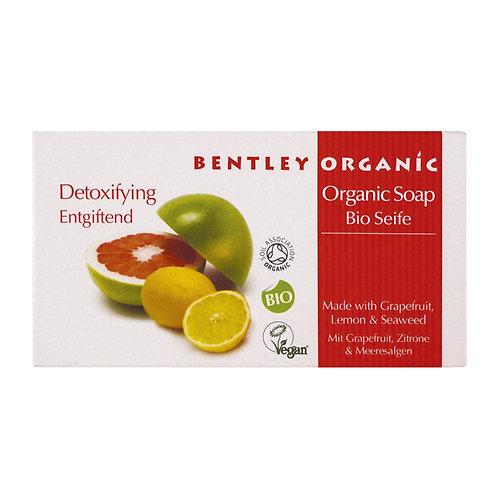 Bentley Organic Detoxifying Soap Bar - 150g