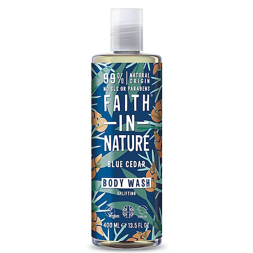 Faith in Nature Blue Cedar Body Wash - 400ml