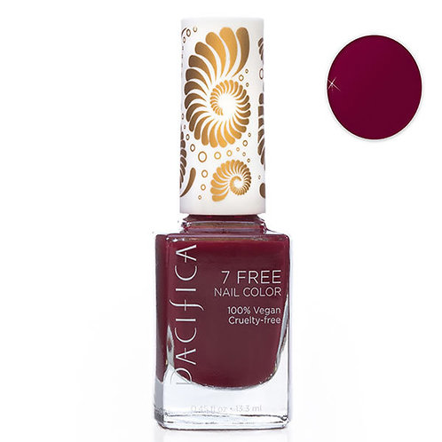 Pacifica 7 Free Nail Polish - Red Red Wine