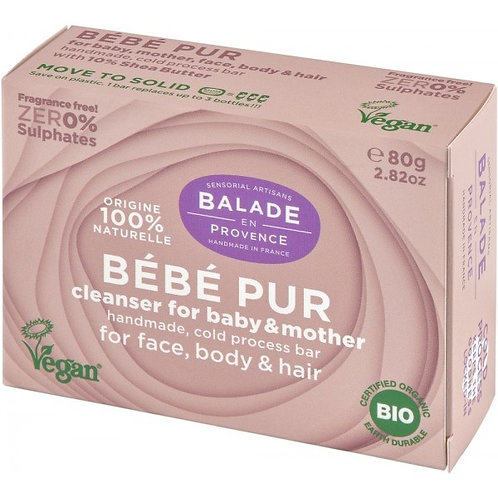 Balade En Provence Pure Baby Unscented Soap Bar - 80g