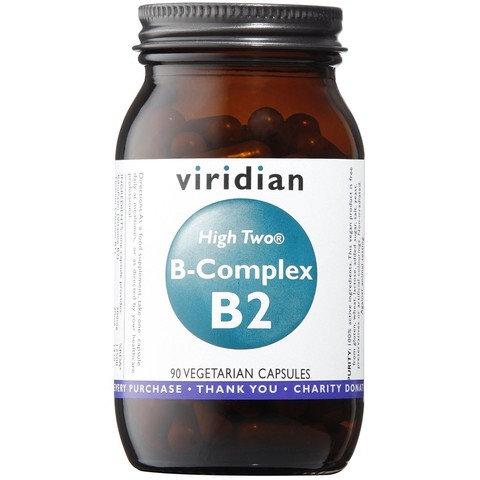 Viridian High Two B-Complex B2 90 Veg Caps