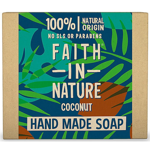 Faith in Nature Coconut Soap Bar - 100g