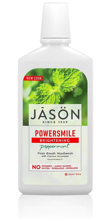 Jason Powersmile Brightening Peppermint Fresh Breath Mouthwash