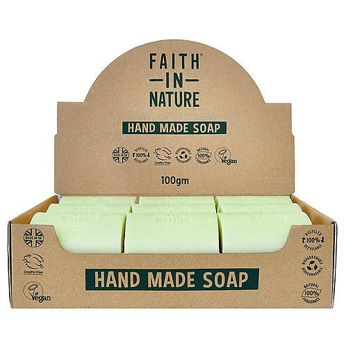Faith in Nature Aloe Vera Unwrapped Soap Bars - 18 Bar Soaps