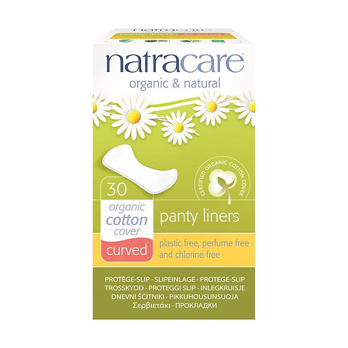 Natracare Curved Panty Liners - 30