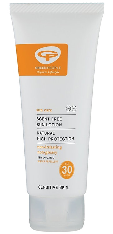 Green People Scent Free Sun Lotion - SPF30 - 100ml