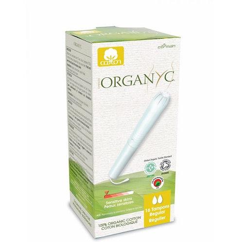 Organyc Organic Cotton Tampons with Applicator - Regular - 16