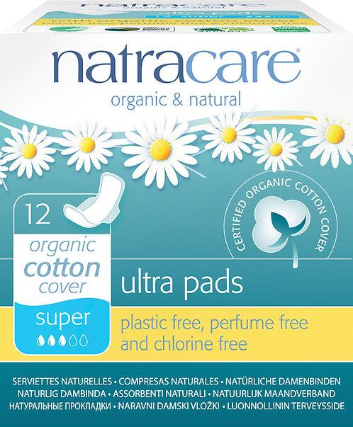 Natracare Ultra Super Period Pads - 12