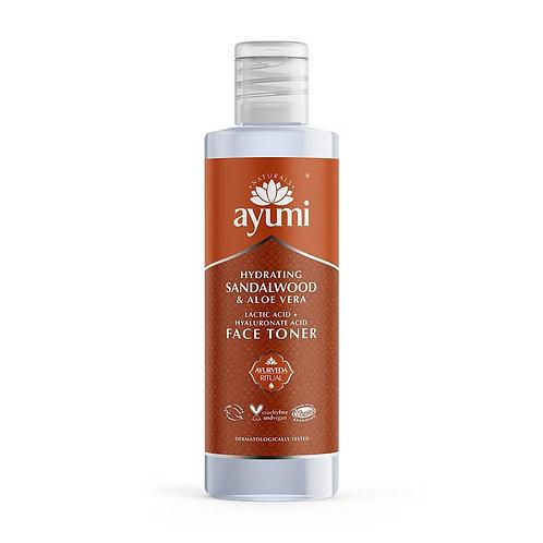 Ayumi Hydrating Sandalwood & Aloe Toner - 150ml