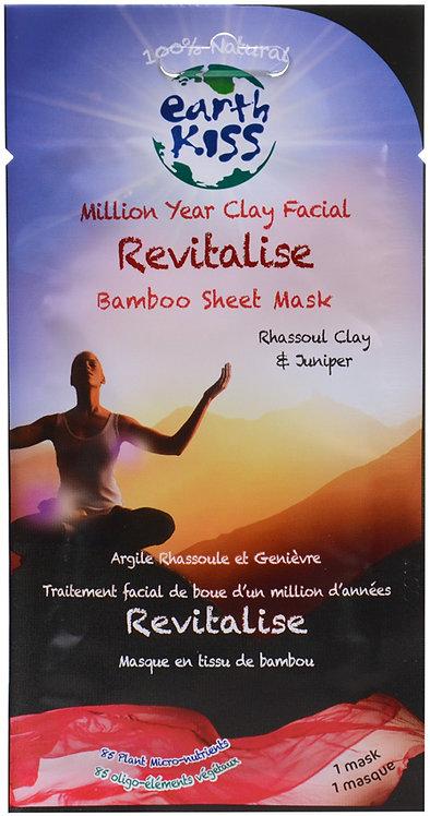 Earth Kiss Million Year Clay Revitalise Bamboo Sheet Mask
