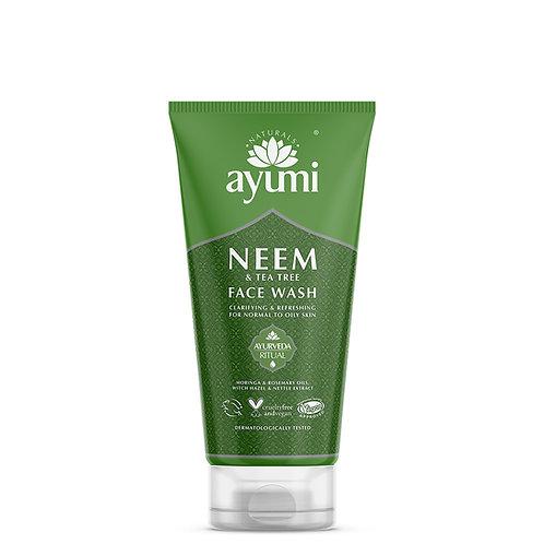 Ayumi Neem & Tea Tree Face Wash - 150ml