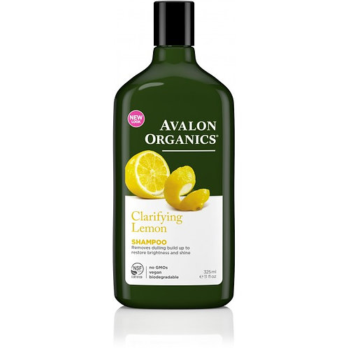 Avalon Organics Clarifying Lemon Shampoo - 325ml