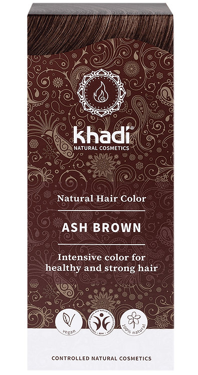 Khadi Natural Hair Colour Ash Brown