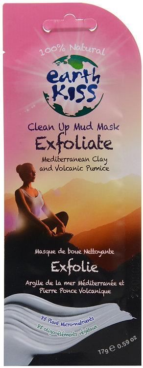 Earth Kiss Clean Up Exfoliate Mud Mask
