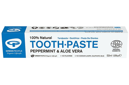 Green People Peppermint & Aloe Vera Toothpaste